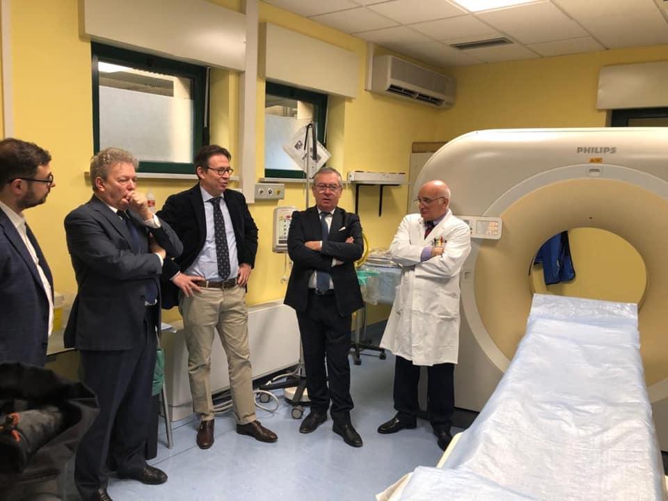 All'ospedale di Susa è stata inaugurata la nuova Tac a 64 strati