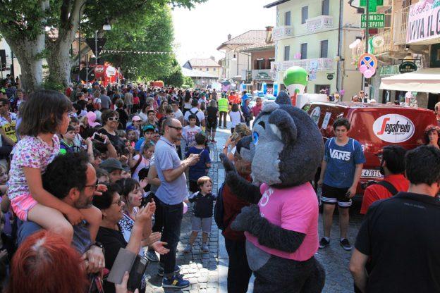 La Carovana del Giro d'Italia di nuovo ad Almese il 24 maggio