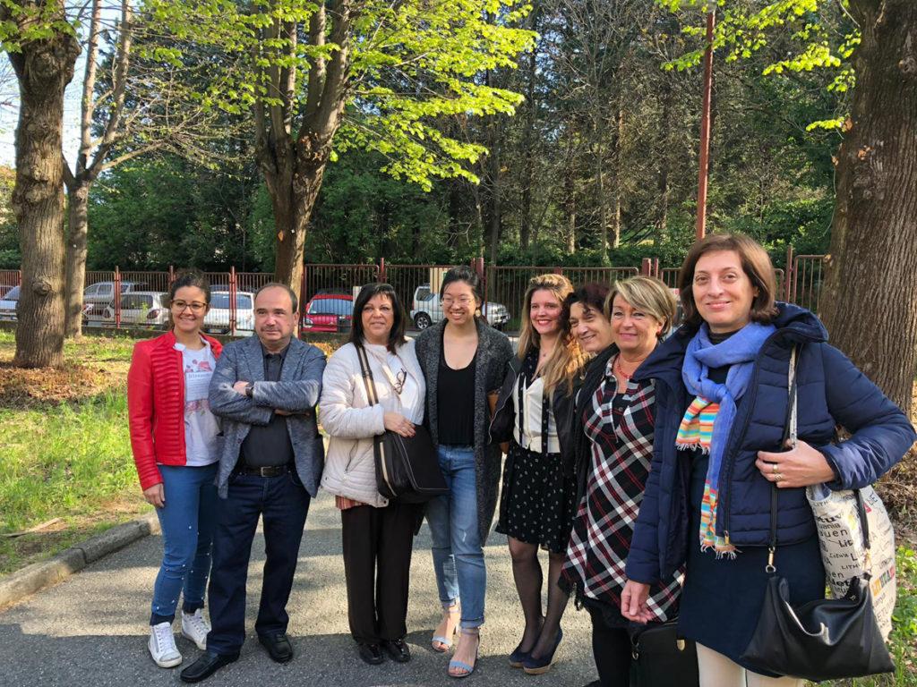 Avigliana, conclusa l'esperienza di Michelle Park all'Istituto Galilei