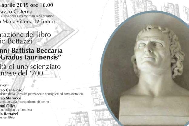 """Torino, G.B. Beccaria ed il """"Gradus Taurinensis"""", il libro"""