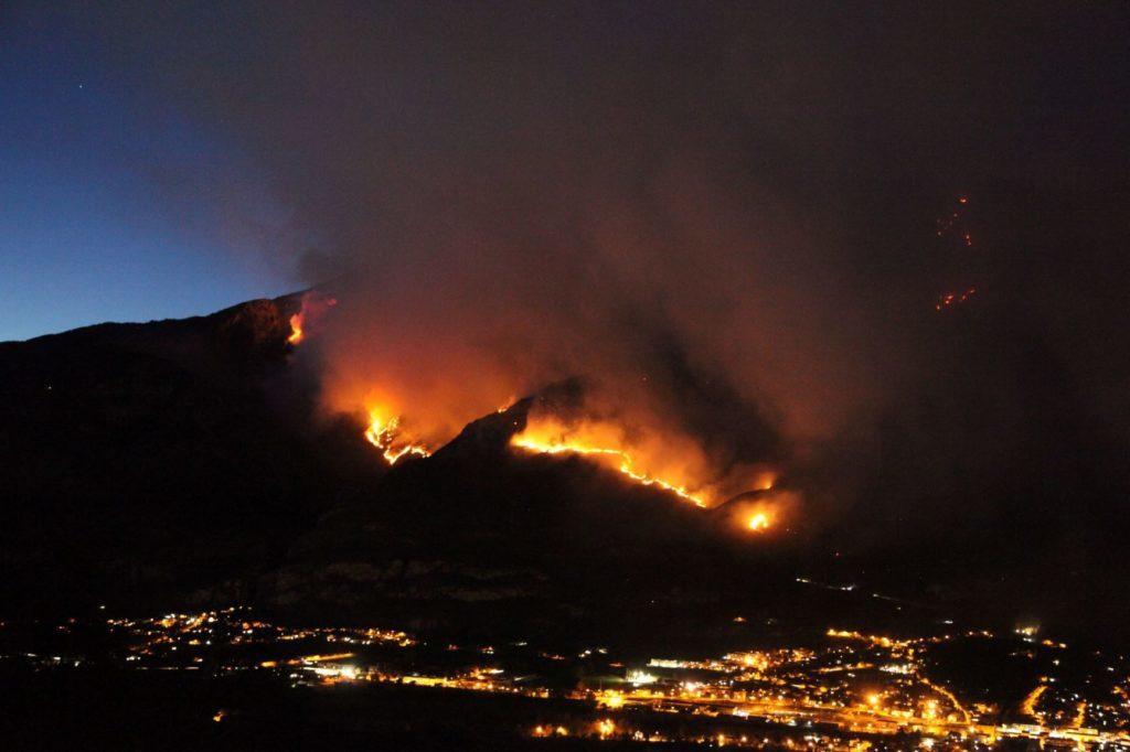 Valsusa, il piano della Regione per ripristinare le zone devastate dagli incendi
