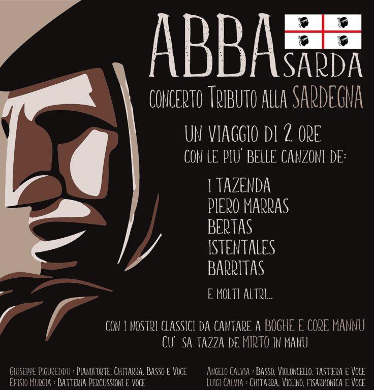 """Il rock etnico degli """"Abba Sarda"""" fa tappa al Maglio, martedì 30 aprile"""