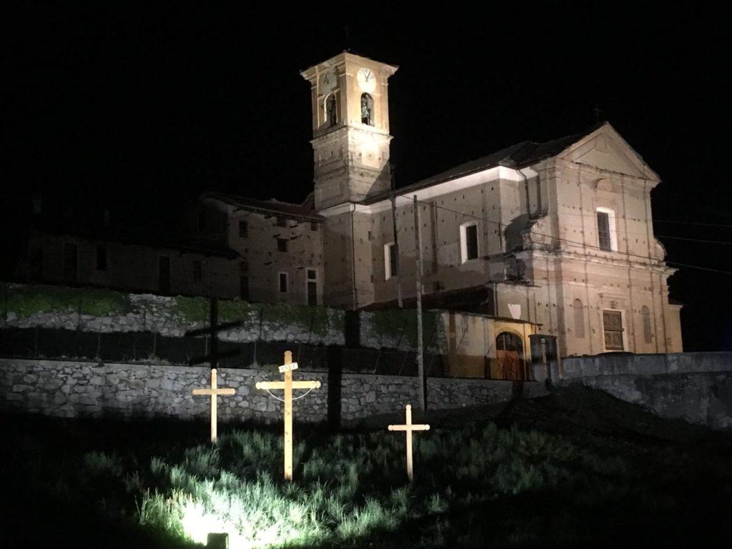 Villar Focchiardo, grande partecipazione per la Via Crucis della Diocesi di Susa