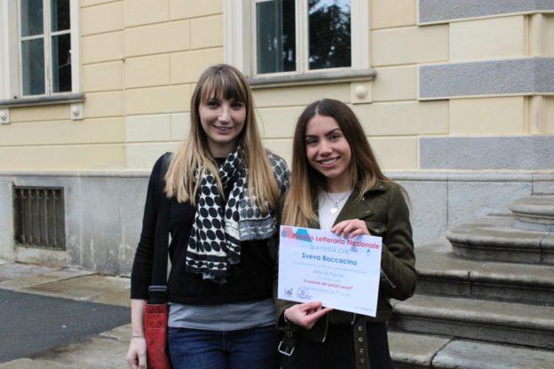 """La pascaliana Sveva Boccacino conquista il Premio nazionale """"Arte di parole"""""""