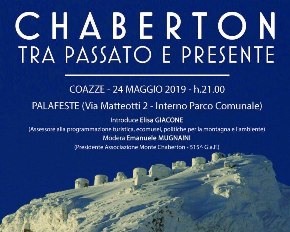 A Coazze, venerdì 24 maggio, si parla dello Chaberton
