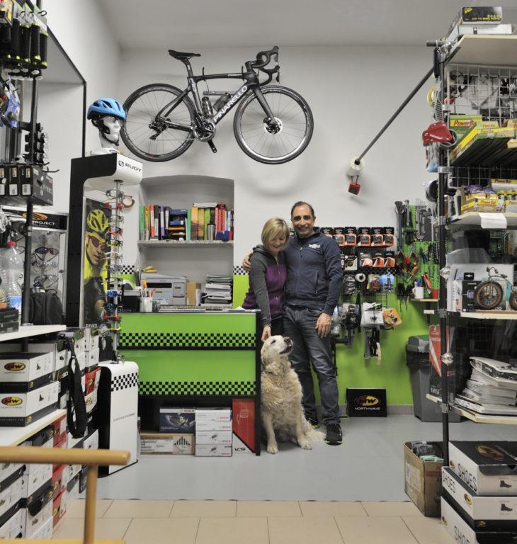 25 anni di biciclette per Fabrizio Ferraro