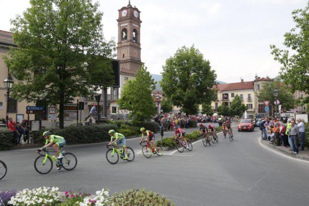 Giaveno, venerdì 24 maggio passa il Giro d'Italia- Le strade chiuse