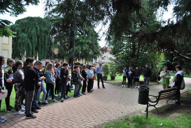 """Giaveno, nel Parco comunale sboccia il """"Giardino della Legalità"""""""