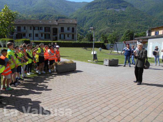 S.Antonino Educazione Stradale - la sindaca Susanna Preacco