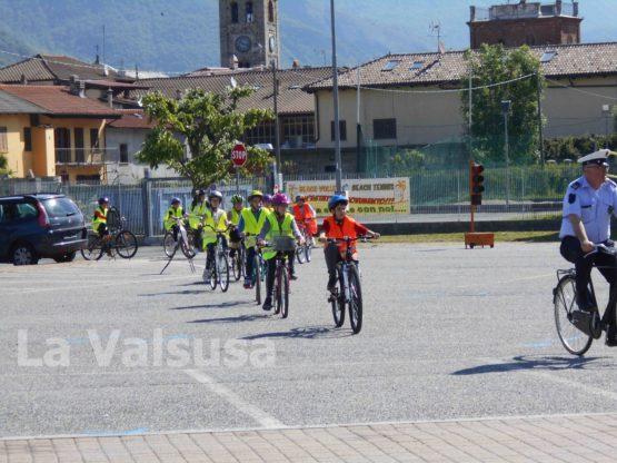 S.Antonino Educazione Stradale - prova in bicicletta 2