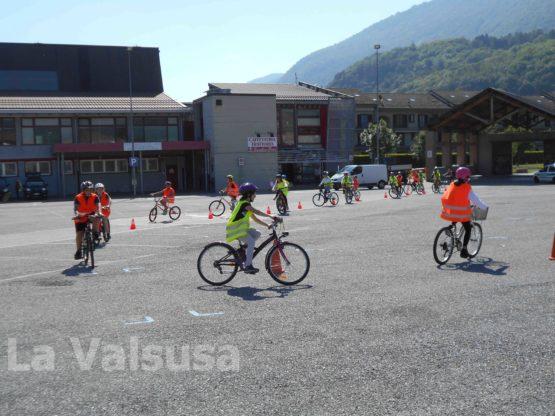 S.Antonino Educazione Stradale - prova in bicicletta