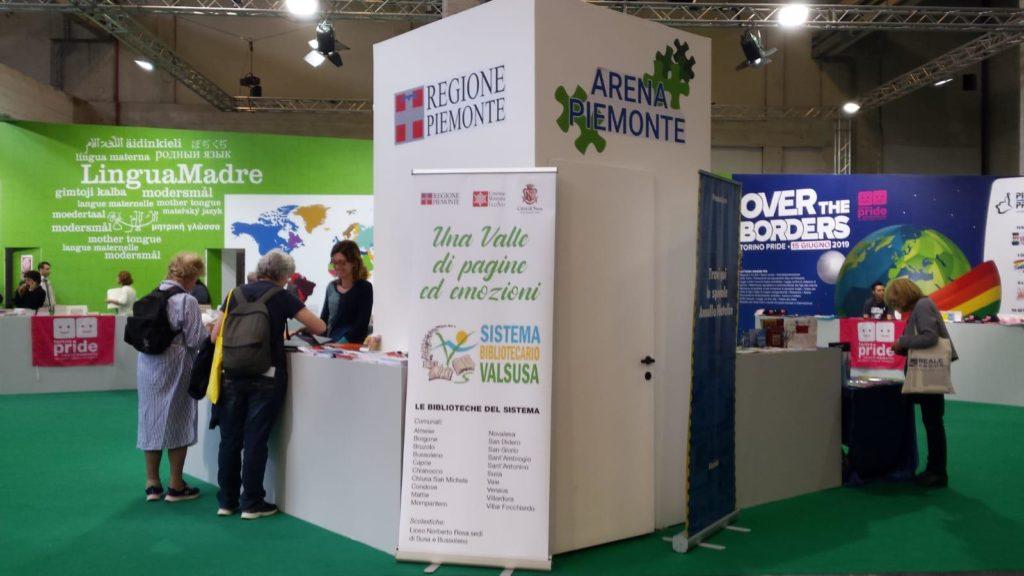 Anche il Sistema Bibliotecario Valsusa al Salone del Libro di Torino