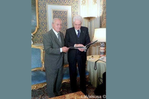 Luciano Frigieri al Quirinale dal Presidente Sergio Mattarella