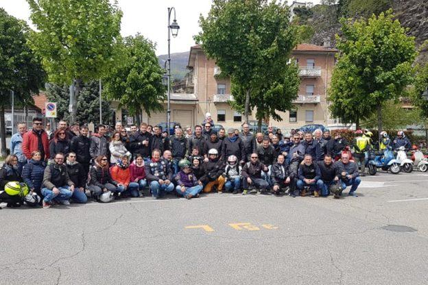 Susa, grande successo del Motoraduno solidale