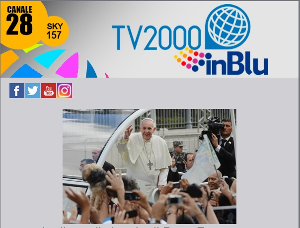 Papa Francesco in Bulgaria su TV2000