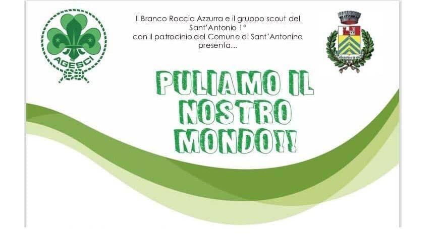 """S.Antonino, """"Puliamo il nostro mondo!"""": sabato 4, un'iniziativa degli Scout"""
