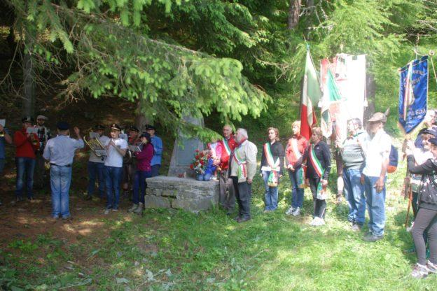 Al rifugio Geat di San Giorio per commemorare i Cinque Martiri del Gravio