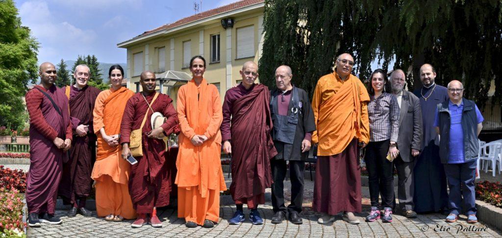 """A Giaveno si è celebrato il """"Vesak"""", tradizionale festa buddista"""