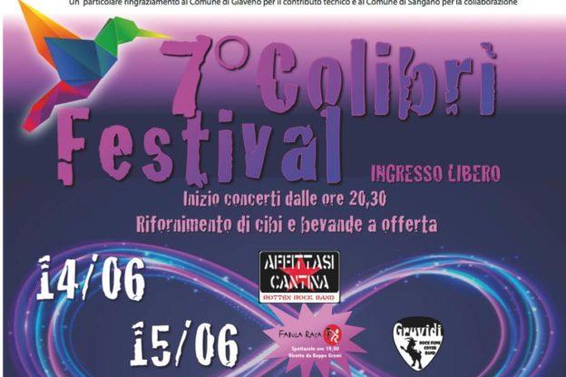 Sangano, al via la settima edizione del Colibrì Festival