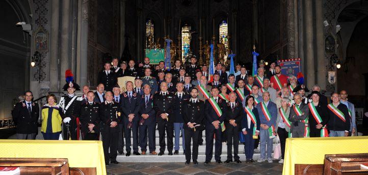 Anche Susa ha festeggiato l'Arma dei Carabinieri