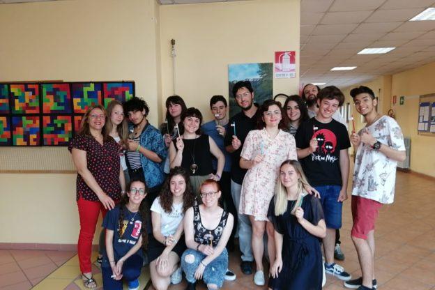 Bussoleno, la prima maturità degli studenti dell'Artistico