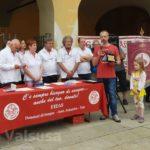 Il figlio di Giulio Rege Coletti, unico socio fondatore rimasto del gruppo, ritira l'onorificenza