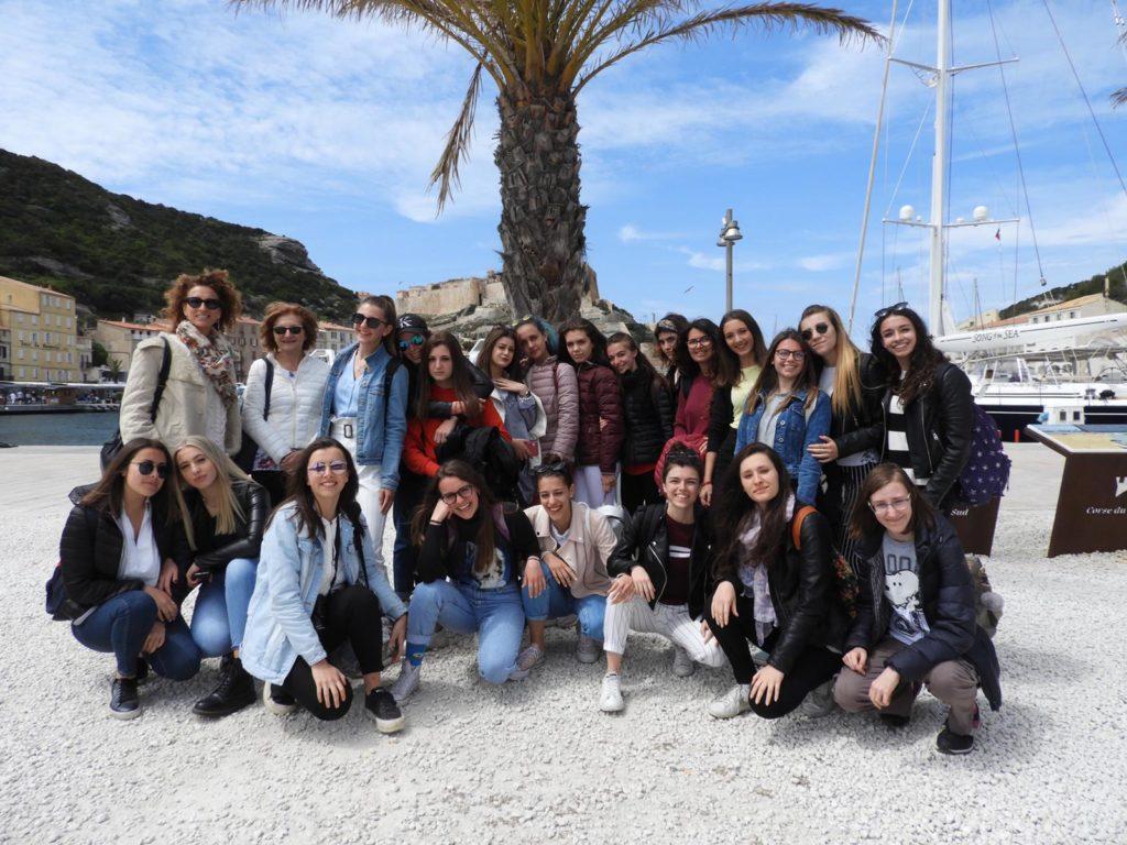 Il Liceo Linguistico Pascal di Giaveno e la Corsica sono sempre più uniti
