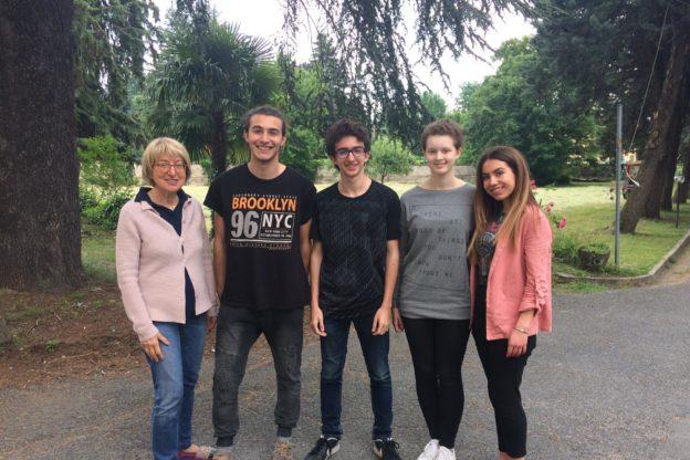 """Un'esperienza """"Normale"""" per quattro studenti del Pascal di Giaveno"""