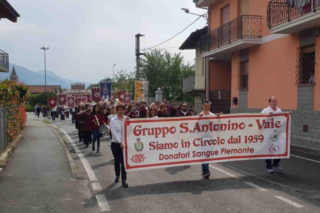 Festa per i 60 anni del gruppo Fidas S.Antonino-Vaie. Le foto, i premiati