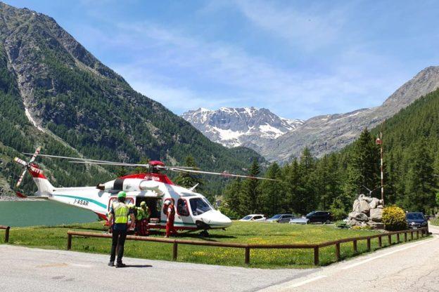 Domenica di intenso lavoro per il Soccorso Alpino Piemontese