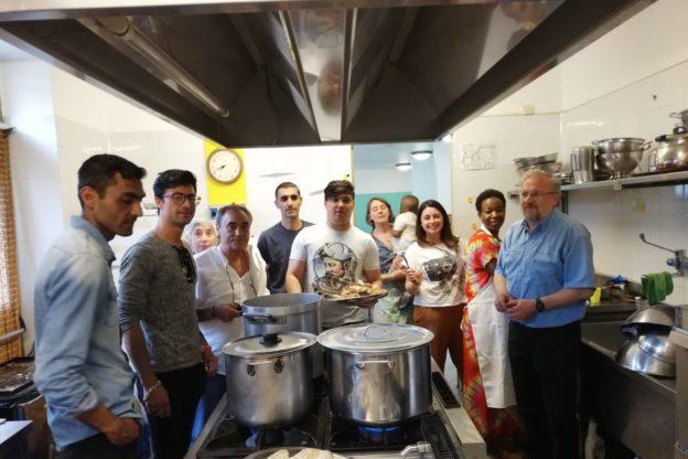 Cena multietnica con il Masci e gli studenti del Des Ambrois