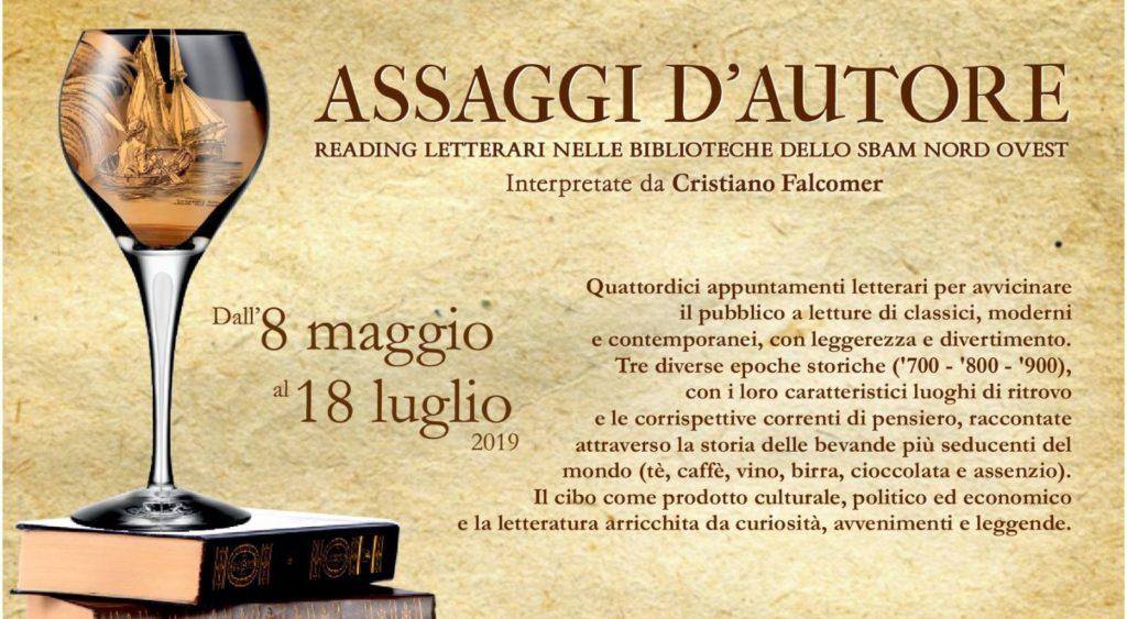 Assaggi d'autore: reading letterario nella biblioteca di Caselette