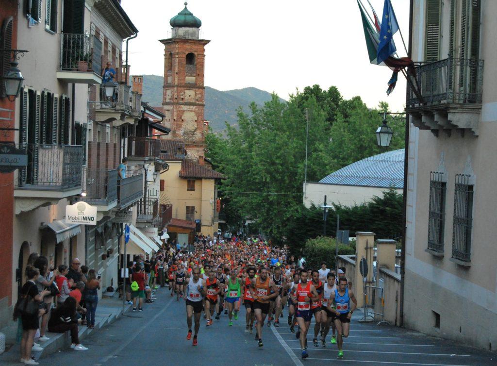 Giaveno, il 20 giugno si corre la Notturna del centro storico