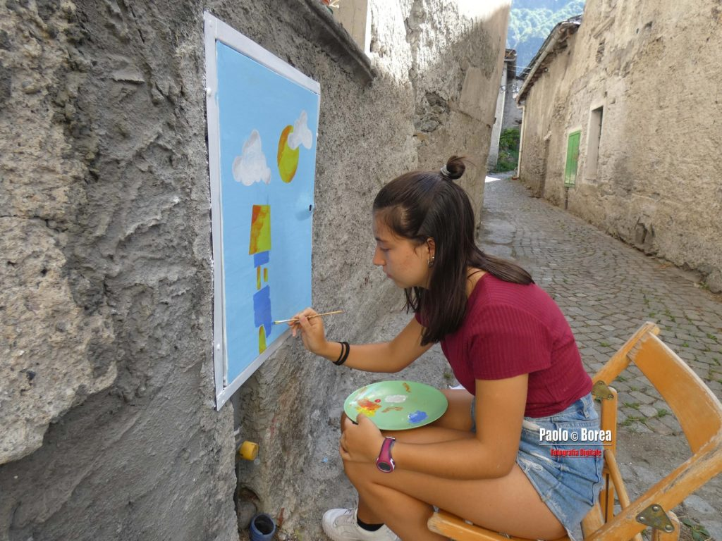 Novalesa: pittori in via maestra e mostra di arte antica