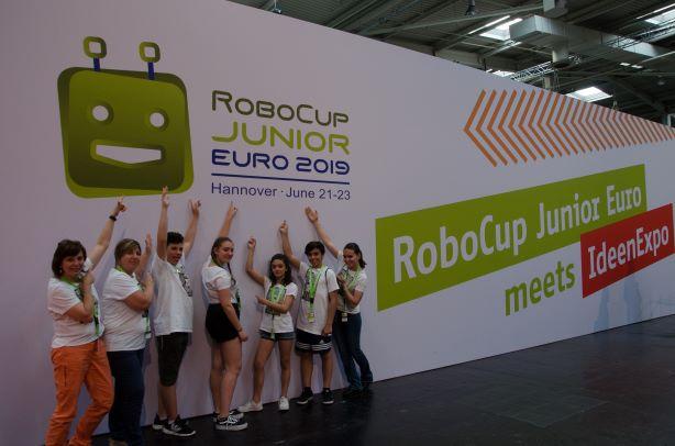 Campionati Europei di Robotica: buon piazzamento per Sant'Antonino