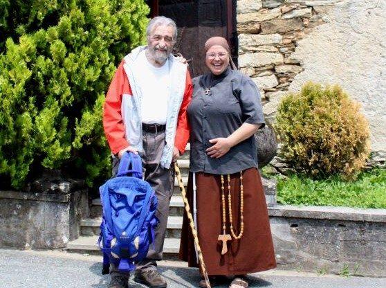 """Don Gramaglia, un intellettuale """"montanaro"""" che ama la Val Sangone"""