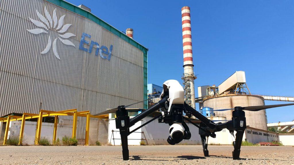 I droni giavenesi di Federico Dovis in missione in Sardegna