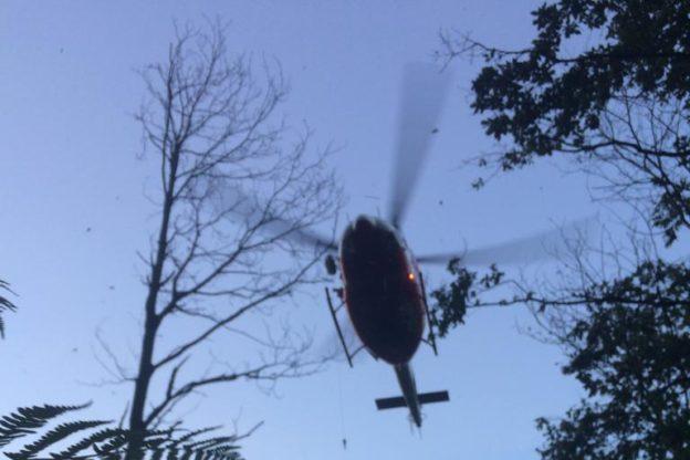 Donna dispersa al confine fra Giaveno e Valgioie: ritrovata sana e salva