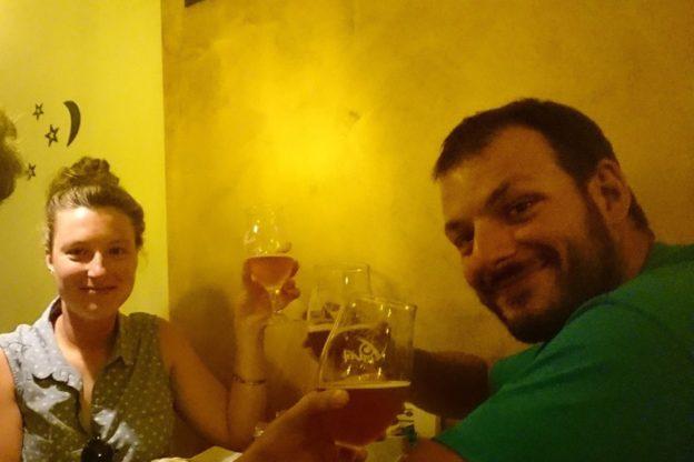 Avigliana, una birra per festeggiare il recupero di Francesco Cassardo dal Gasherbrum VII