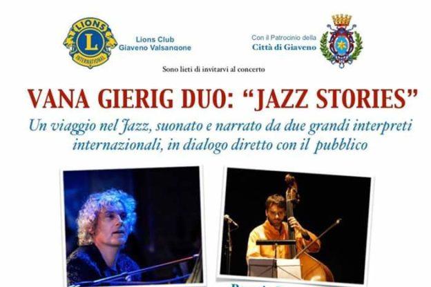 Martedì 23 luglio il grande Jazz arriva a Giaveno