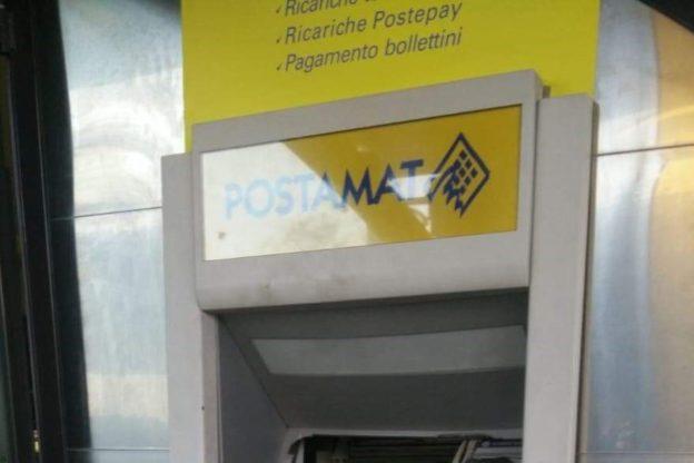 """Giaveno, """"sradicato"""" il Postamat dell'Ufficio Postale – Foto"""