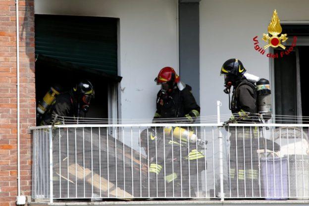 Valsusa, incendio in un appartamento di Sant'Ambrogio – Foto