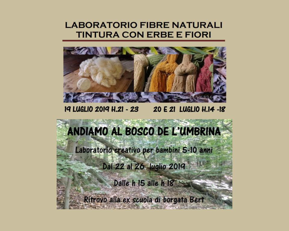 """Villar Dora, laboratori creativi dell'associazione """"Franco Buggia"""""""