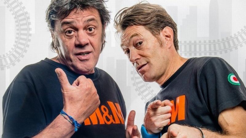 Domenica 28 luglio il duo comico Marco & Mauro a Giaveno