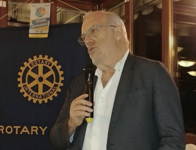 Il Rotary Club Susa e Val Susa ha incontrato il giornalista Orlando Perera