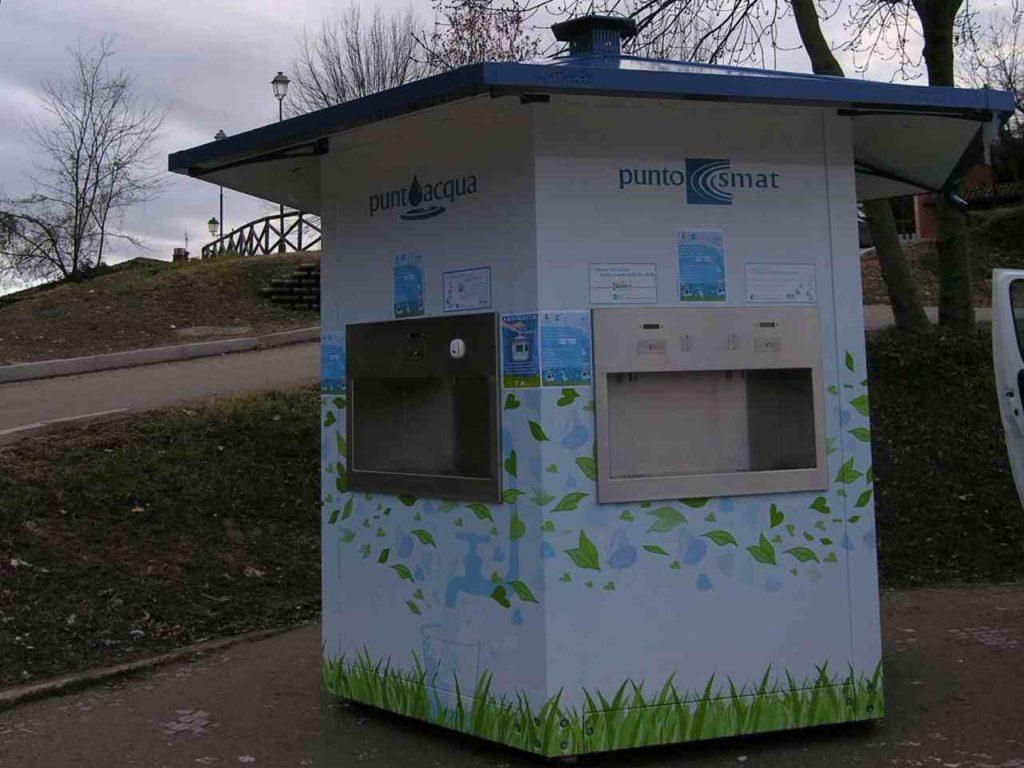 Nei punti Smat l'acqua si pagherà con il bancomat (o carta di credito)
