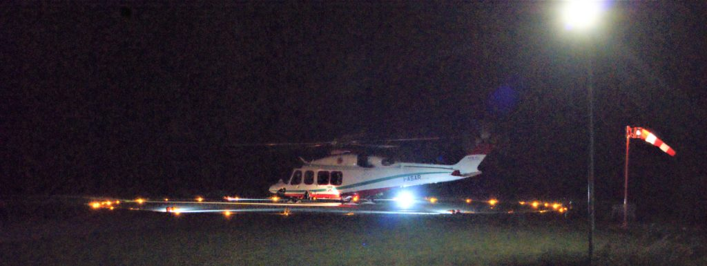 Gli elicotteri ora possono atterrare anche di notte in Alta Valle di Susa