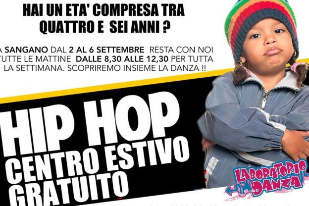 A Sangano un Centro estivo a suon di Hip Hop con Laboratorio Danza