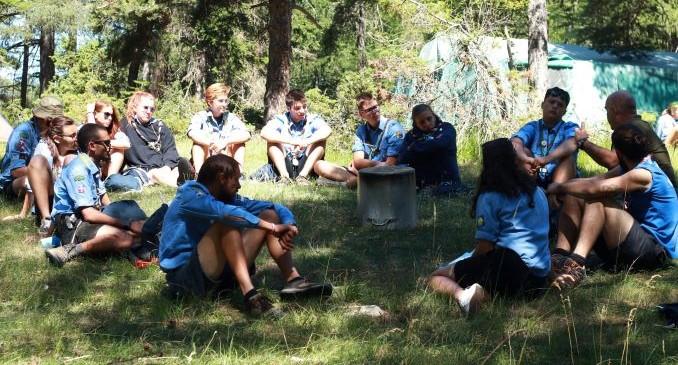 Gli Scout della Val di Susa in cammino nell'estate 2019