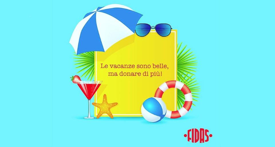FIDAS: domenica 11 agosto si dona il sangue a Caselette